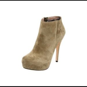 NWT Matiko platform suede Sheila ankle booties